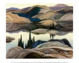 Reflexos em lagos Posters por Franklin Carmichael