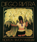 Girl with Lilies Posters av Rivera, Diego
