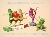 Show Biz Print by Greg Brown
