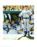 Dugout Posters por Norman Rockwell