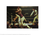 Dempsey & Fipro Posters par George Wesley Bellows