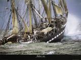 Segelschiff Belem Kunstdrucke von Philip Plisson