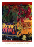 Wrapping It Up at the Lafayette Posters van Romare Bearden