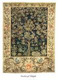 Jardin des délices Art par William Morris