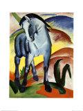 Blå Hest I  Poster af Franz Marc