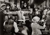 Louis Armstrong en Billie Holiday Kunst van Phil Stern