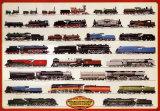 Eisenbahn: Dampflokomotiven Kunstdruck