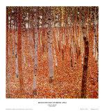 Beechwood Forest, 1903 Posters af Gustav Klimt