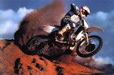 Motocross Kunstdruck