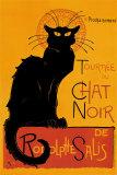 黒猫(ルドルフ・サリの黒猫の巡業) アートポスター : テオフィル・アレクサンドル・スタンラン