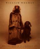 Dog Walker Print van William Wegman