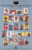 Hockey Card Collection Poster