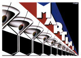 Martini Print by Steve Forney