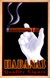 Qualitätszigarren von Habanas, Englisch Kunstdrucke von Steve Forney