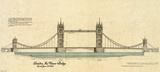Tower Bridge Plakater av Yves Poinsot
