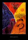 Joie Affiche par Marc Chagall