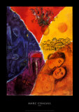 Joie Plakat af Marc Chagall