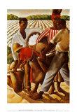 綿摘み 高品質プリント : アール・ウィルトン・リチャードソン