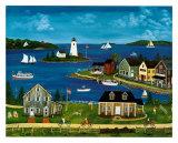 Cove in Summer Prints by Barbara Appleyard