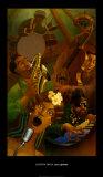 Jazz Quintet Posters por Justin Bua