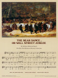 Wall Street Jubilee Poster af William Holbrook Beard