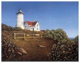 Wood's Hole Lighthouse Poster av Daniel Pollera