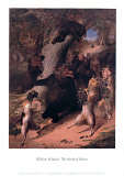 March of Silenus Posters af William Holbrook Beard