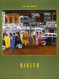 Harlem Plakat af Michele Wood