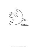 Fredsduen Posters av Pablo Picasso