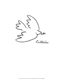Dove of Peace Art by Pablo Picasso
