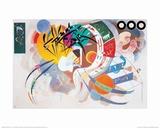 Dominante Kurve Poster von Wassily Kandinsky