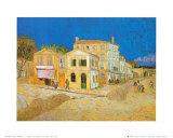 The Yellow House at Arles, c.1889 Kunstdrucke von Vincent van Gogh