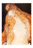 Eva und Adam Kunstdrucke von Gustav Klimt
