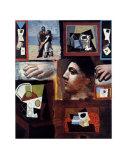 Etudes Prints by Pablo Picasso