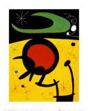 Vuelo de Pajaros Plakater av Joan Miró