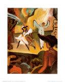 Russisches Ballett I Kunstdrucke von Auguste Macke