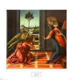 Annonciation Posters par Sandro Botticelli