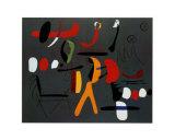 Peinture Collage Plakater av Joan Miró