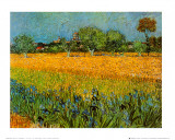 Blick auf Arles Kunstdrucke von Vincent van Gogh