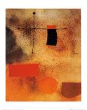 抽象化 ポスター : ジョアン・ミロ