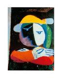 Frau auf dem Balkon, 1937 Kunstdrucke von Pablo Picasso