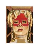 Face of Mae West, c.1935 Plakater av Salvador Dalí