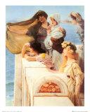 Coign of Vantage, c.1895 Prints by Sir Lawrence Alma-Tadema