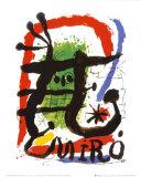 Alcohol de Menthe Posters av Joan Miró