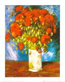 Poppies, c.1886 Posters av Vincent van Gogh