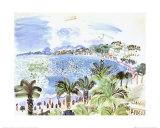 La Promenade Des Anglais Poster par Raoul Dufy