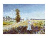 Passeggiata Prints by Claude Monet