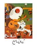 Interieur Hollandais I Posters por Joan Miró