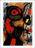 Personnage et Oiseau, c.1948 Pôsters por Joan Miró