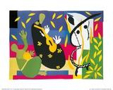 王の悲しみ 1952年 ポスター : アンリ・マティス